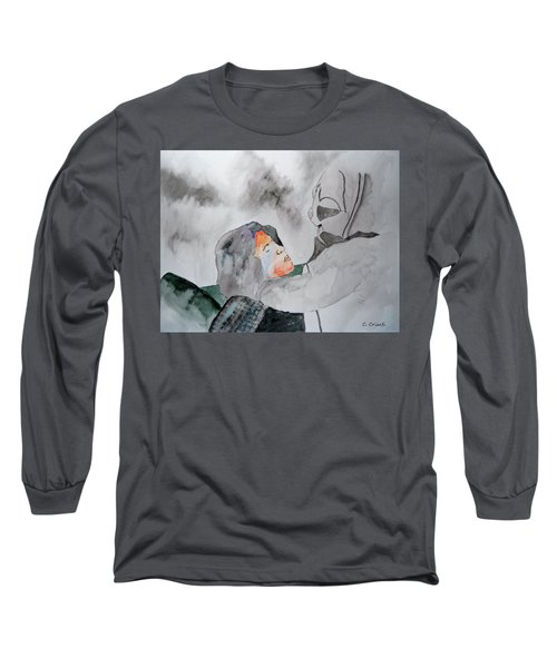 Dean Deleo - Stone Temple Pilots - Music Inspiration Series Long Sleeve T-Shirt by Carol Crisafi