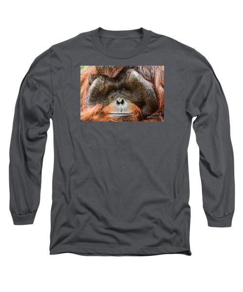 Deep In Thought Long Sleeve T-Shirt by Jamie Pham