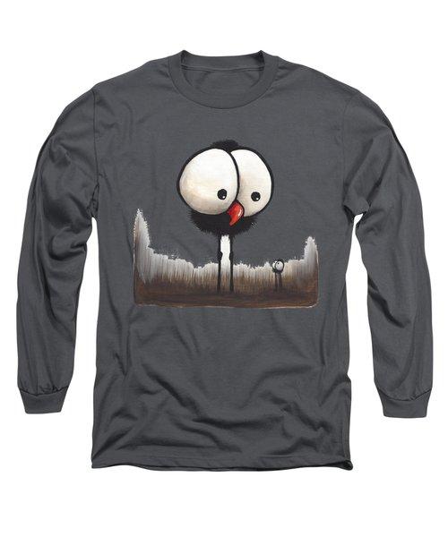 Defiant Little Spider Long Sleeve T-Shirt by Lucia Stewart