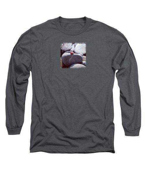Sunbathing Ladybug Long Sleeve T-Shirt by Deschips