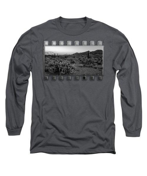 Desert Foothills H30 Long Sleeve T-Shirt by Mark Myhaver