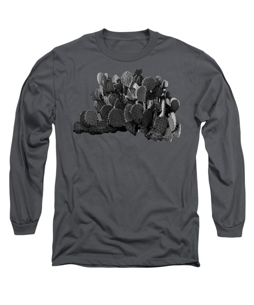 Desert Prickly-pear No7 Long Sleeve T-Shirt by Mark Myhaver