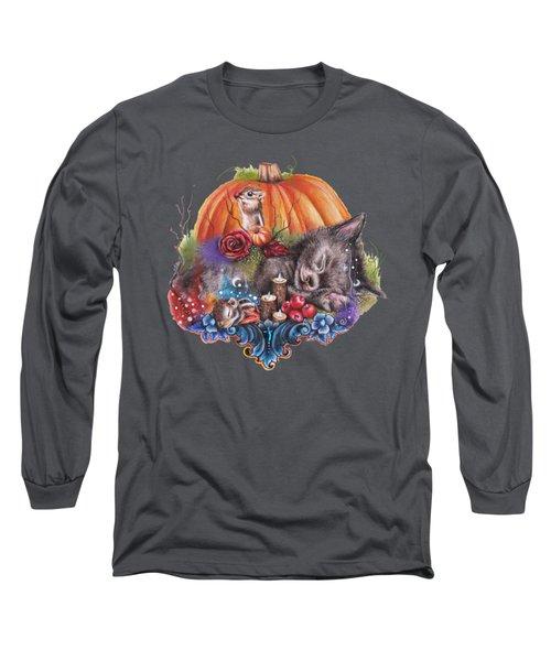 Dreaming Of Autumn Long Sleeve T-Shirt by Sheena Pike