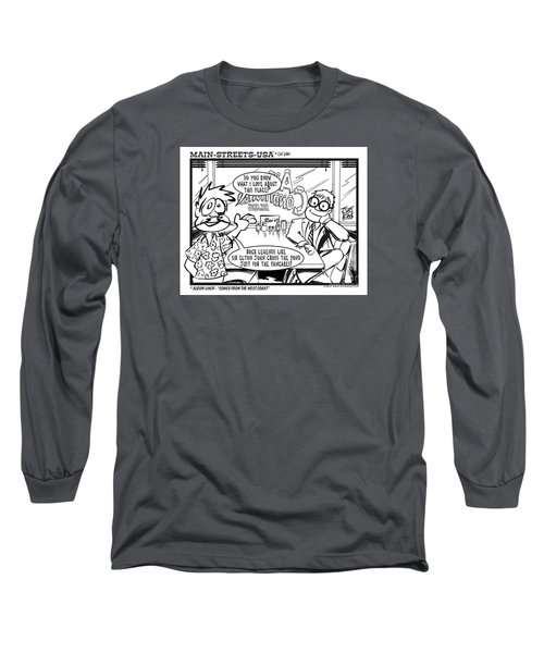 Elton Long Sleeve T-Shirt by Joe King
