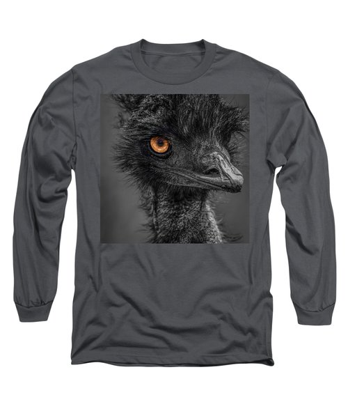 Emu Long Sleeve T-Shirt by Paul Freidlund