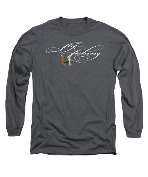 Fly Fishing Renegade  Long Sleeve T-Shirt by Rob Corsetti