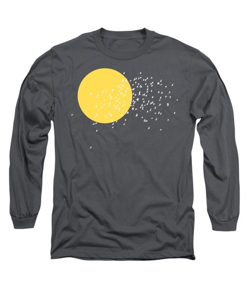Flying Home Long Sleeve T-Shirt by Sverre Andreas Fekjan