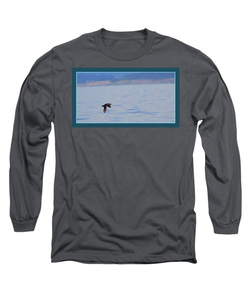 Flying Rhino Long Sleeve T-Shirt by BYETPhotography