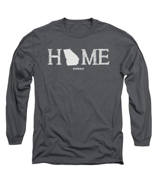 Ga Home Long Sleeve T-Shirt by Nancy Ingersoll