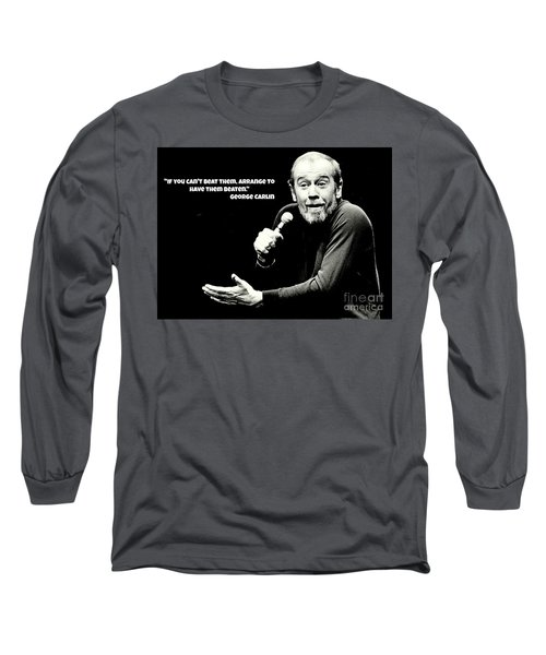 George Long Sleeve T-Shirt by Pd George