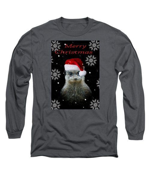 Happy Christmas Long Sleeve T-Shirt by Paul Neville