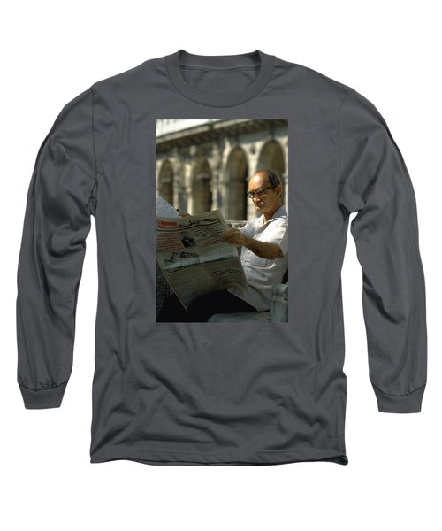 Long Sleeve T-Shirt featuring the photograph Havana by Travel Pics