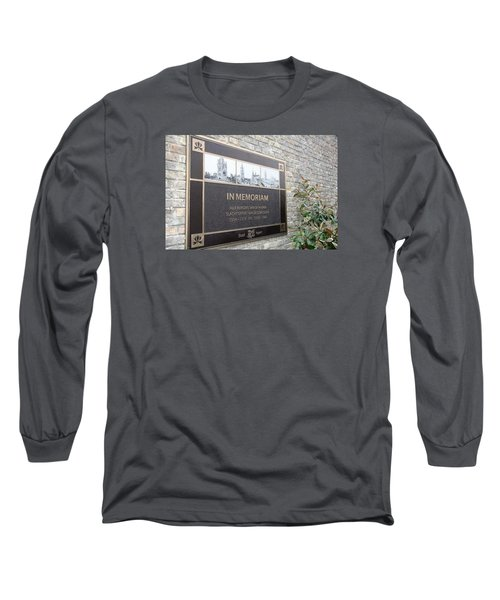 Long Sleeve T-Shirt featuring the photograph In Memoriam - Ypres by Travel Pics