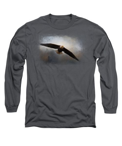 In The Midst Of The Storm Long Sleeve T-Shirt by Jai Johnson
