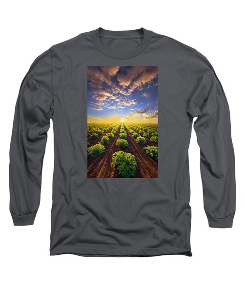 Into The Future Long Sleeve T-Shirt by Phil Koch
