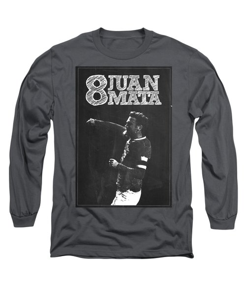 Juan Mata Long Sleeve T-Shirt by Semih Yurdabak