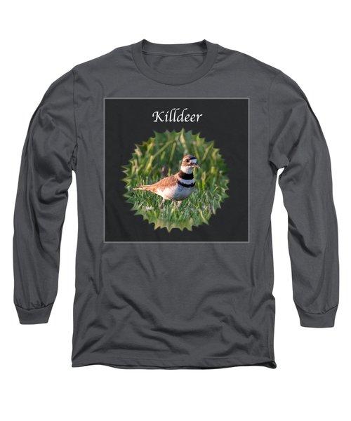 Killdeer Long Sleeve T-Shirt by Jan M Holden