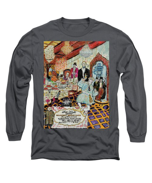 Last Supper, Dark Knight Long Sleeve T-Shirt by Lindsay Strubbe