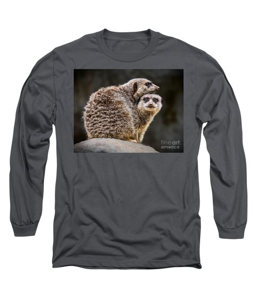 Lean On Me Long Sleeve T-Shirt by Jamie Pham