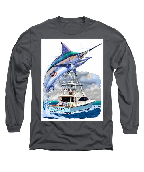 Marlin Commission  Long Sleeve T-Shirt by Carey Chen