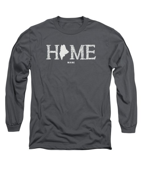 Me Home Long Sleeve T-Shirt by Nancy Ingersoll