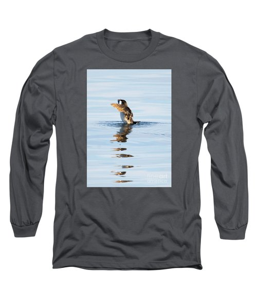 More Than A Mouthful Long Sleeve T-Shirt by Mike Dawson