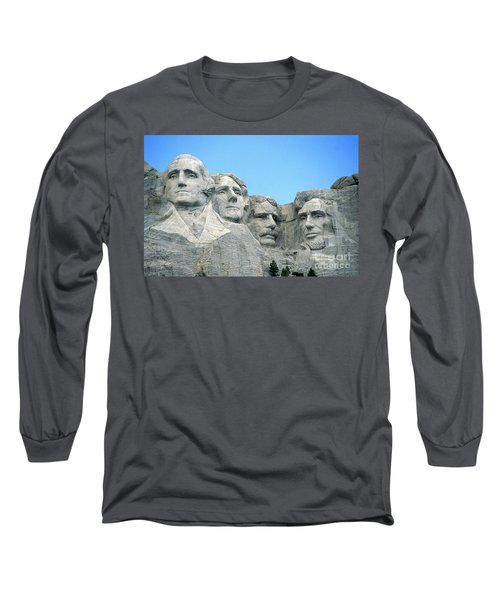 Mount Rushmore Long Sleeve T-Shirt by American School