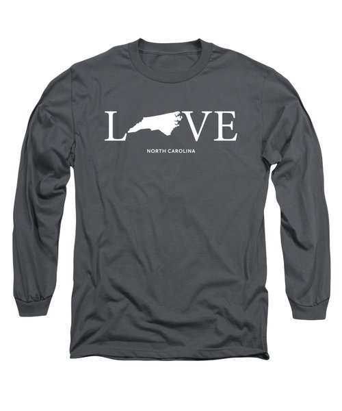 Nc Love Long Sleeve T-Shirt by Nancy Ingersoll