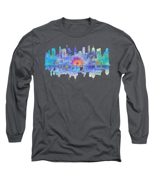 New York Long Sleeve T-Shirt by John Groves