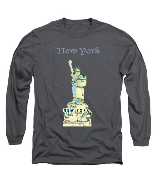 New York Long Sleeve T-Shirt by Art Spectrum