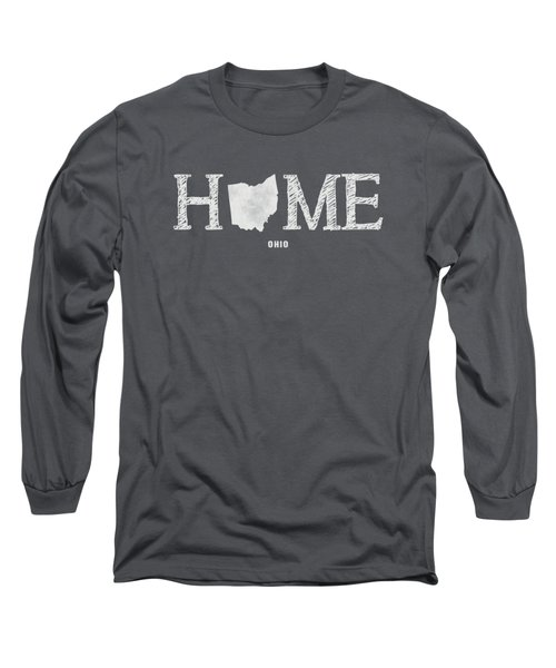 Oh Home Long Sleeve T-Shirt by Nancy Ingersoll