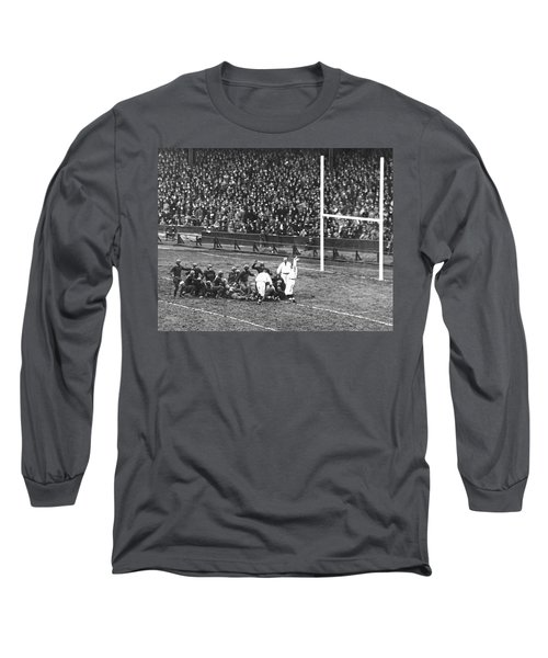 One For The Gipper Long Sleeve T-Shirt by Underwood Archives