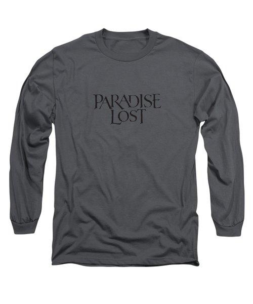 Paradise Lost Long Sleeve T-Shirt by Mentari Surya