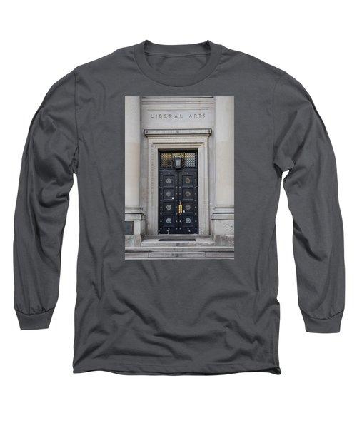 Penn State University Liberal Arts Door  Long Sleeve T-Shirt by John McGraw
