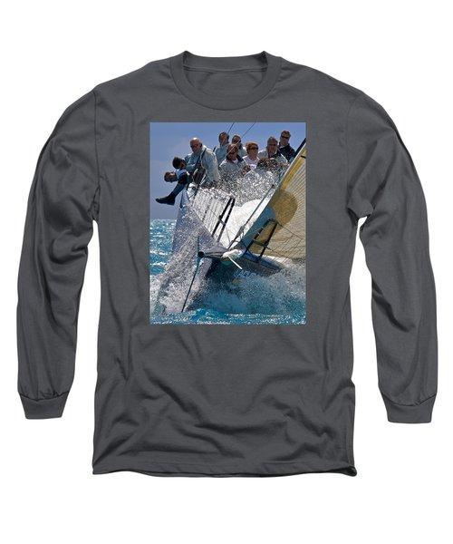 Point Long Sleeve T-Shirt by Steven Lapkin