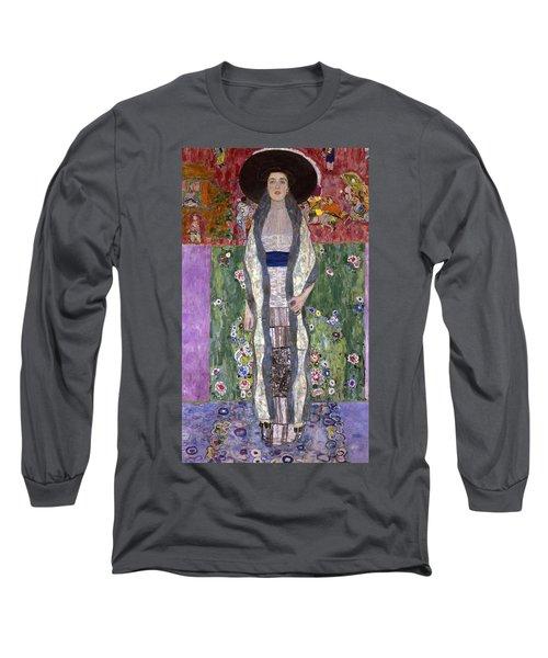 Portrait Of Adele Bloch-bauer II Long Sleeve T-Shirt by Gustav Klimt
