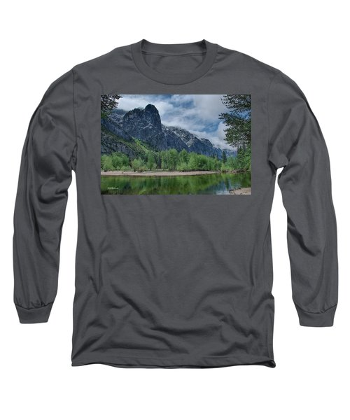 Sentinel Rock After The Storm Long Sleeve T-Shirt by Bill Roberts