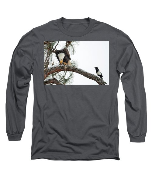 Share The Wealth Long Sleeve T-Shirt by Mike Dawson