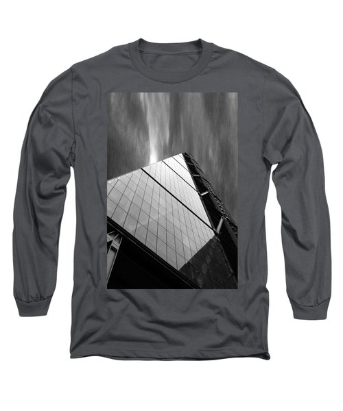 Sharp Angles Long Sleeve T-Shirt by Martin Newman