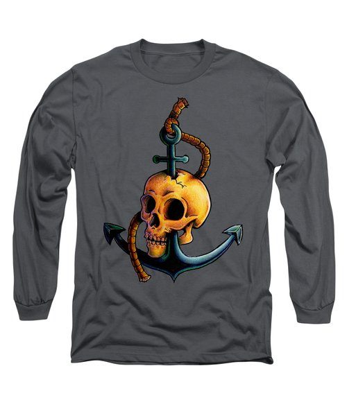 Skullchor Long Sleeve T-Shirt by Vicki Von Doom