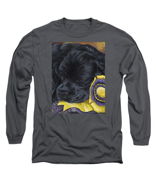 Sleepy Time Spader Long Sleeve T-Shirt by Gilda Goodwin