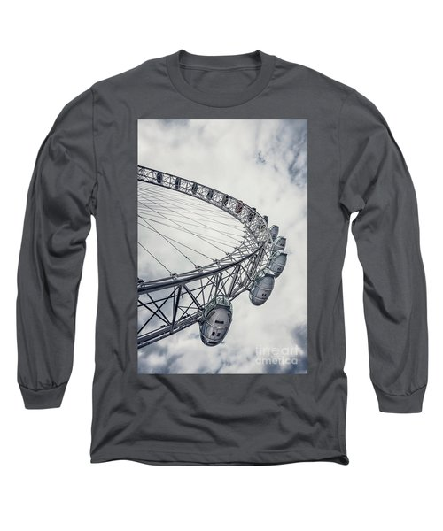 Spin Me Around Long Sleeve T-Shirt by Evelina Kremsdorf