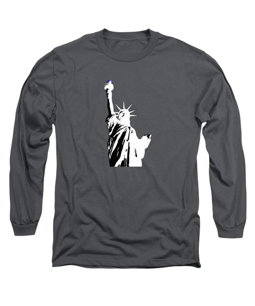 Statue Of Liberty #2 Long Sleeve T-Shirt by Frederick Holiday
