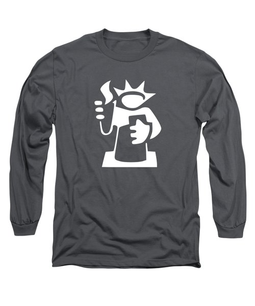 Statue Of Liberty Long Sleeve T-Shirt by Frederick Holiday