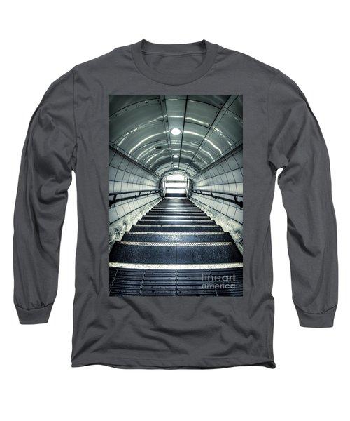 Steppings Tones Long Sleeve T-Shirt by Evelina Kremsdorf