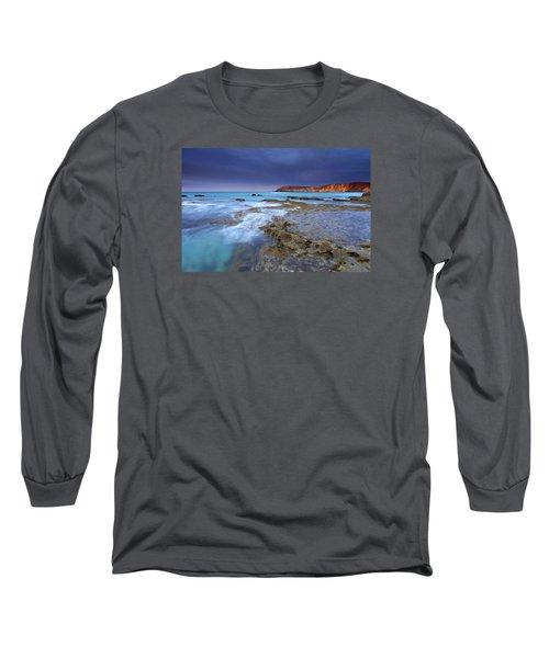 Storm Light Long Sleeve T-Shirt by Mike  Dawson