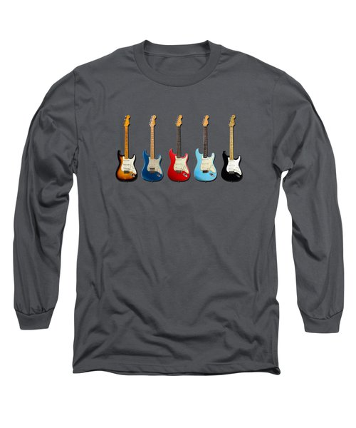 Stratocaster Long Sleeve T-Shirt by Mark Rogan