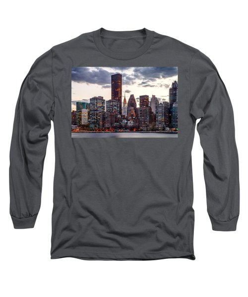 Surrounded By The City Long Sleeve T-Shirt by Az Jackson