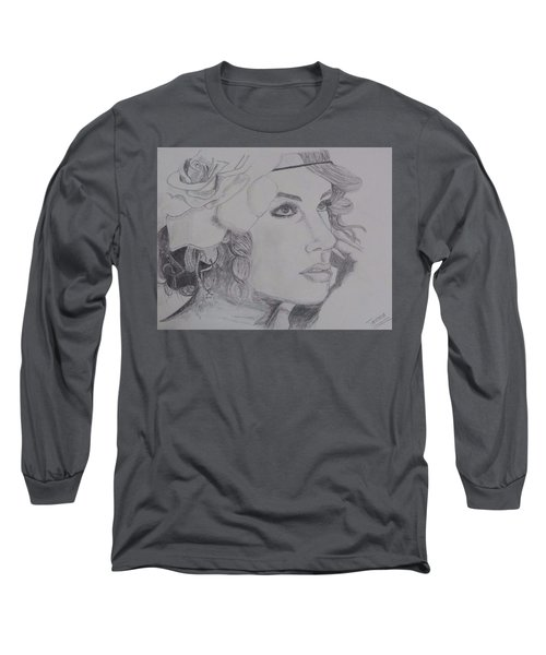 Taylor Swift Long Sleeve T-Shirt by Tanmaya Chugh