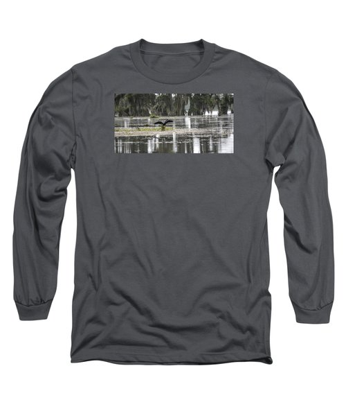The Announcer  Long Sleeve T-Shirt by Betsy Knapp